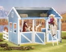 barn-classics country stable with wash stall