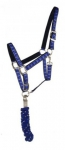 halter-and-lead---checkered-blue